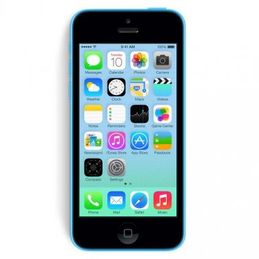Apple iPhone 5c 32GB Verizon Blue Smartphone CDMA A1532 iOS 8 4G LTE No Contract Mobile Cellphone
