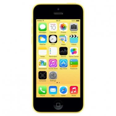 Apple iPhone 5c 32gb AT&T Yellow Smartphone
