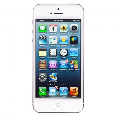 Apple iPhone 5 - 64GB - White & Silver (AT&T) Smartphone
