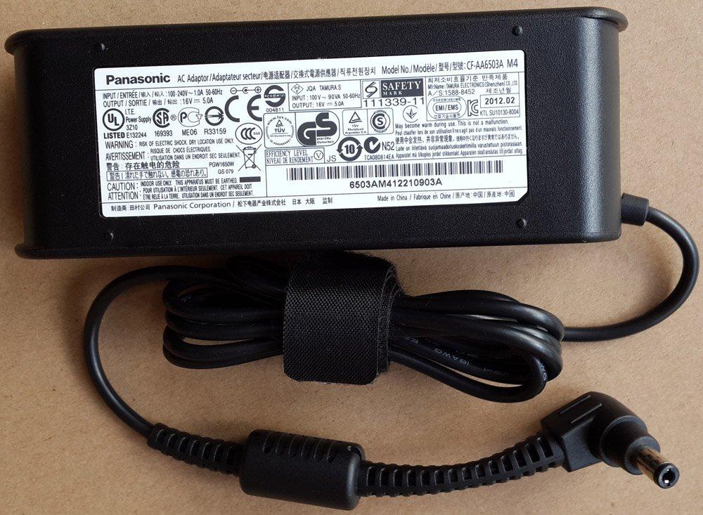 Original Panasonic 16V 5A AC Adapter Model CF-AA6503A