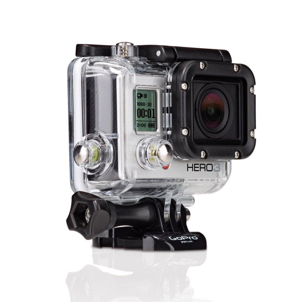 gopro hd hero 3 white edition 5mp camera w waterproof housing. Black Bedroom Furniture Sets. Home Design Ideas