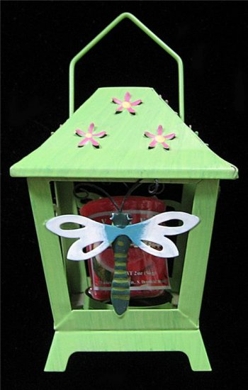 Green Lantern~Dragonfly~Candle Holder NEW