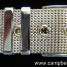 "Mesh Gold Tone Sparkling Belt Bracelet 7"" or less, Mint Condition"