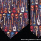 Multi-Guitar Neck Tie by Addiction Acoustic & Electric
