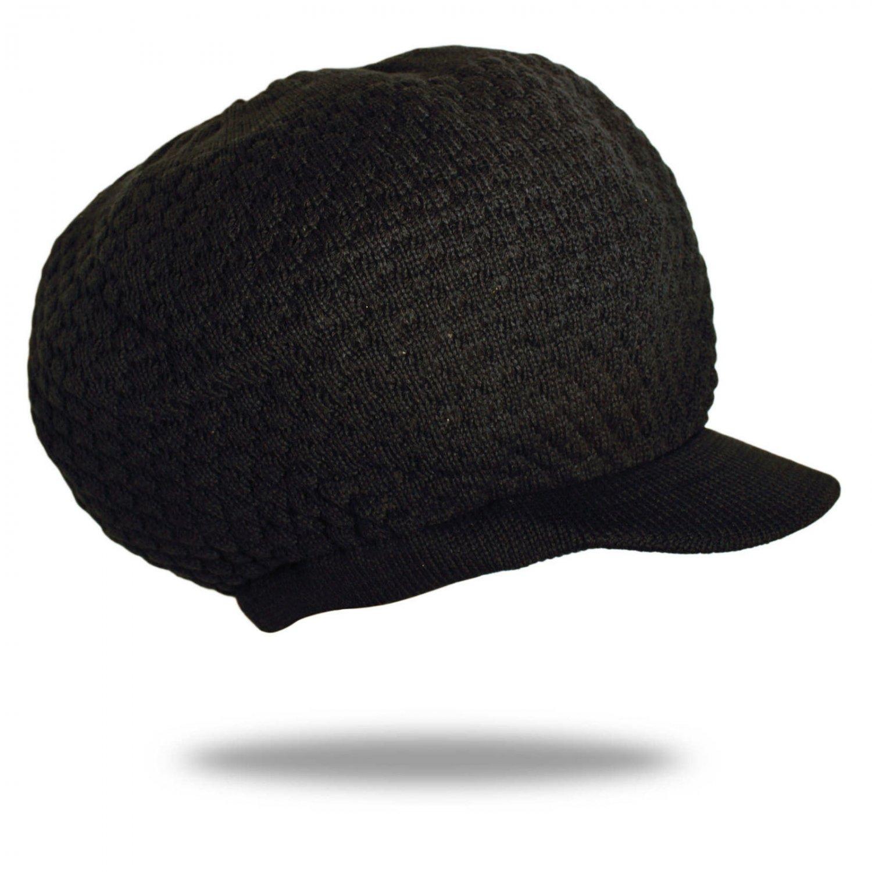 Rasta Roots Black Hat Beret Cap Reggae Marley Jamaica 100% Cottton Rastafari M/L Fit
