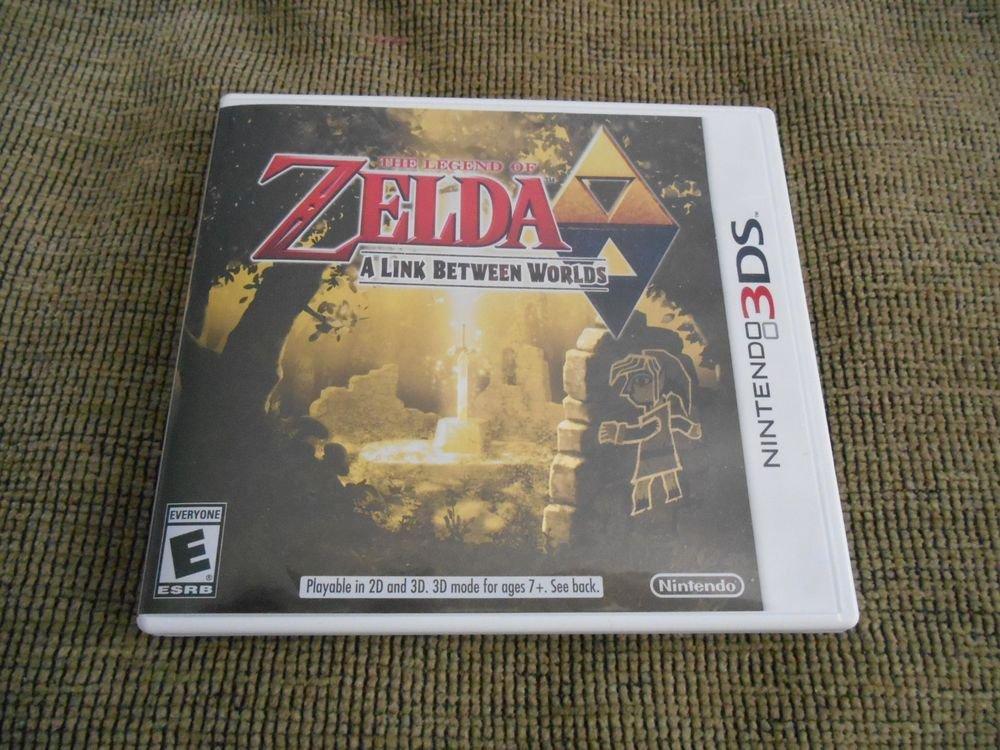 The Legend of Zelda: A Link Between Worlds (Nintendo 3DS, 2013) nintendo 3ds