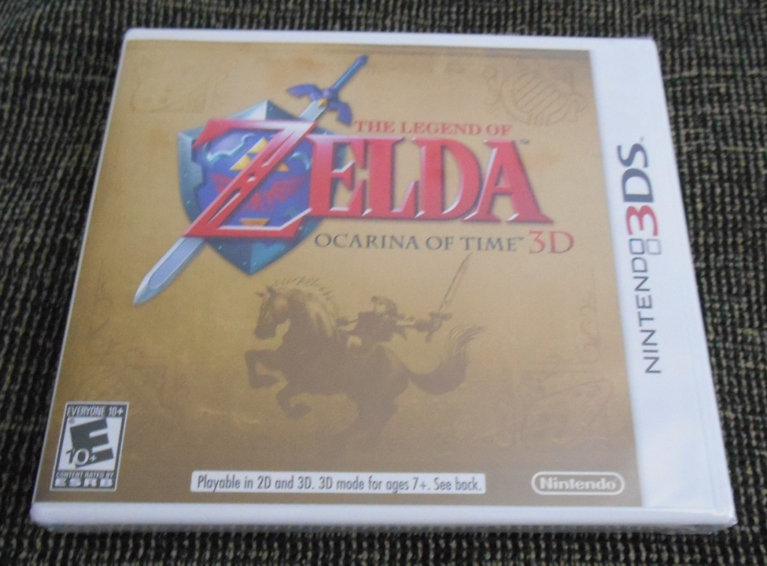The legend of zelda ocarina of time 3ds nintendo 3ds - Ocarina of time 3ds console ...