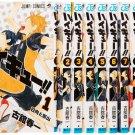 [Japanese Edition] Haikyu!! Manga (FURUDATE Haruichi) | Vol. 01 - Vol. 10  Manga Set