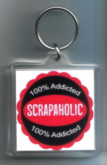 New Scrapbooking keychain