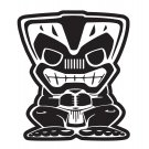 "6"" Tiki Bob Large Decal"