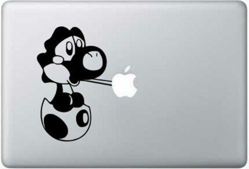 Baby Yoshi Vinyl Decal Sticker Apple MacBook Pro Air Mac