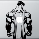 Man of Steel Vinyl Decal Sticker Apple MacBook Pro Air Mac