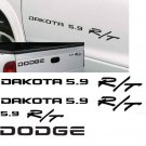 1998 - 2006 DODGE DAKOTA 5.9 R/T decals RT 4x4 stripes ram 1500
