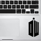 "Dr. Who Trackpad Vinyl Decal Sticker Skin Apple MacBook Pro Air Mac 13"" inch"