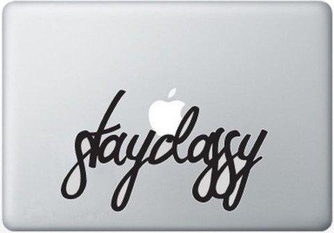 Stayclassic Vinyl Decal Sticker Apple MacBook Pro Air Mac