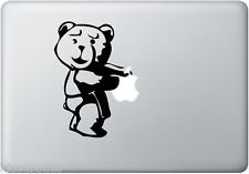 Ted Bear Vinyl Decal Sticker Apple MacBook Pro Air Mac