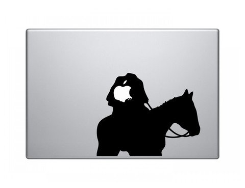 Headless Horseman Vinyl Decal Sticker Apple MacBook Pro Air Mac