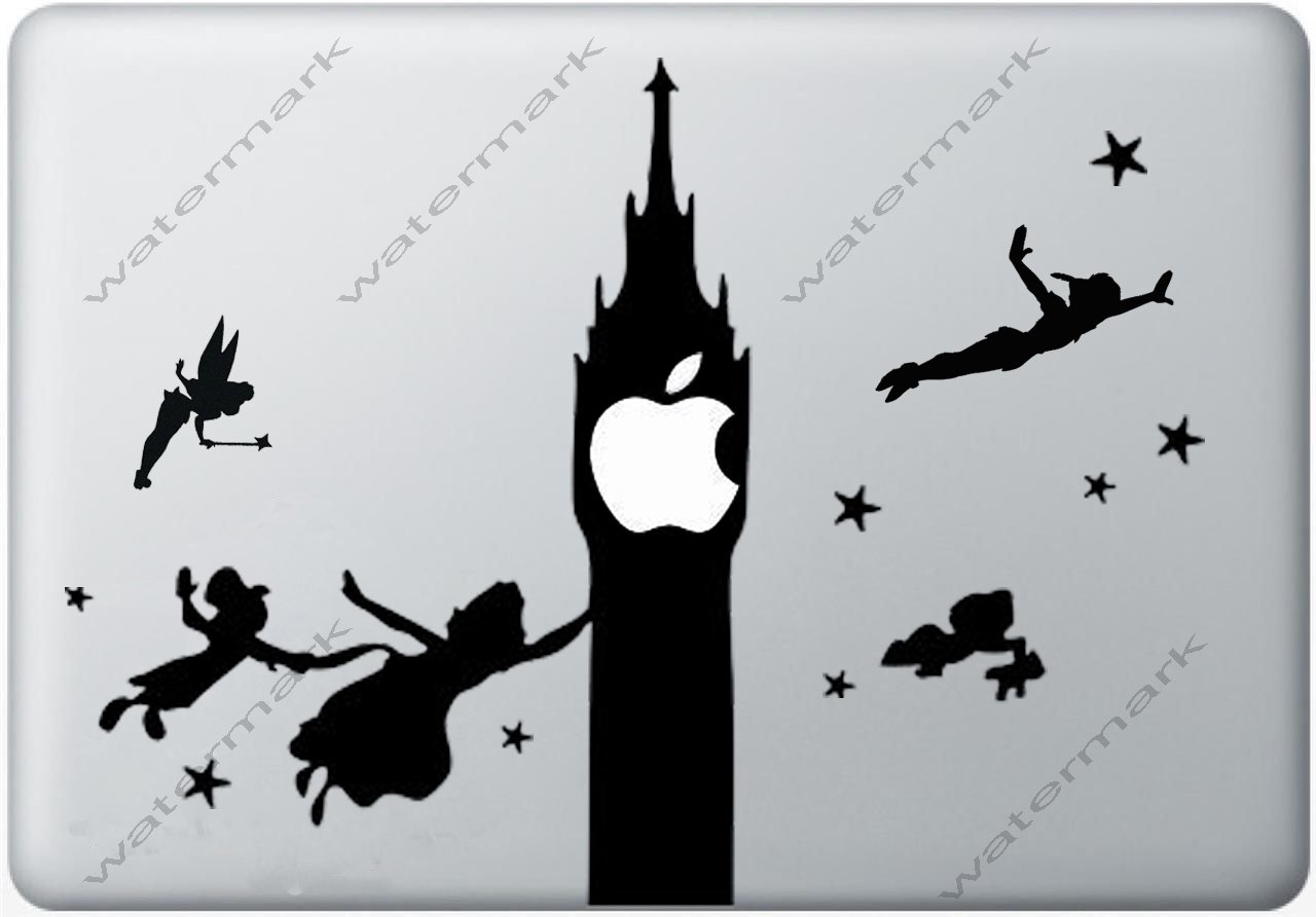 peter pan Vinyl Decal Sticker Apple MacBook Pro Air Mac