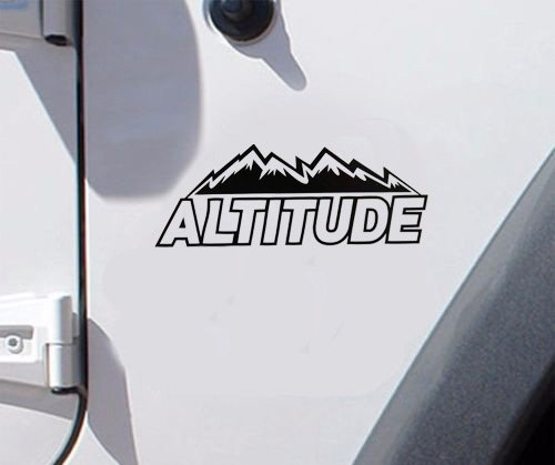 set of jeep altitude decal