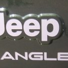 Set of Jeep Wrangler Replacement Vinyl Stickers Decals YJ TJ white Set