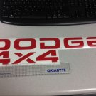 Dodge Dakota Tailgate decal stickers DODGE & 4X4 RAM DAKOTA SPORTS red