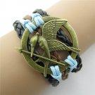 Europen Retro Sword of Lovebirds Handmade Christmas Infinity Bracelet
