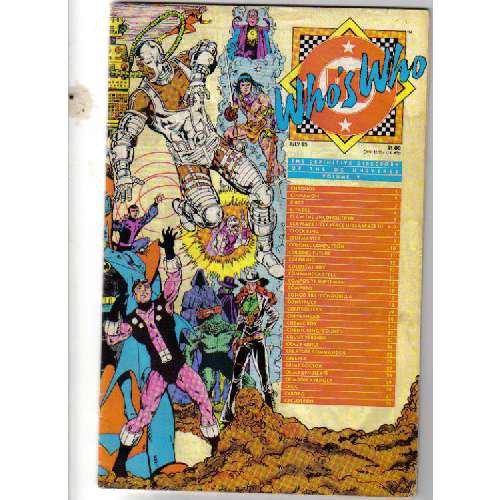 Who's Who DC Comic #vol 5