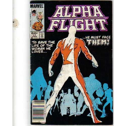 ALPHA FLIGHT #11 MARVEL COMICS