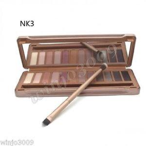 12-Color Smoky Cosmetic Waterproof Makeup Naked Eyeshadow Palette