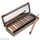 12-Color Smoky Cosmetic Waterproof Makeup Naked Eyeshadow Palette NK2