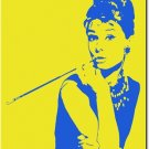 Audrey Hepburn Pop Art Painting