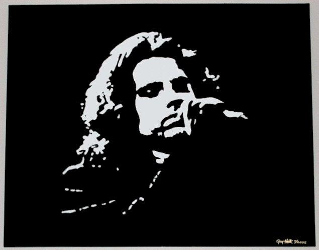 Jim Morrison Pop Art Painting