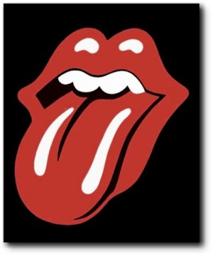 The Rolling Stones Pop Art Painting