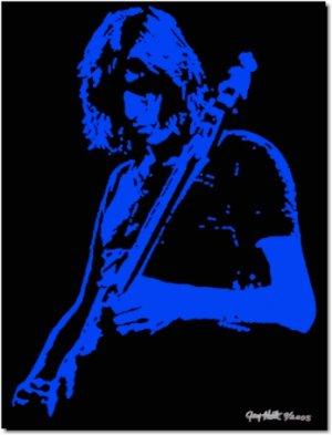 Roger Waters Pop Art Painting