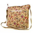 Ladies Owl Print Canvas Cross Body Satchel Fashion Shoulder Bag College School