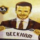 David Beckham Portrait - Vietnamese Rice Painting