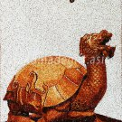 Four scale animals - Turtle Rice Painting