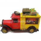 Handmade gift for decoration - Wine & Fruits Truck