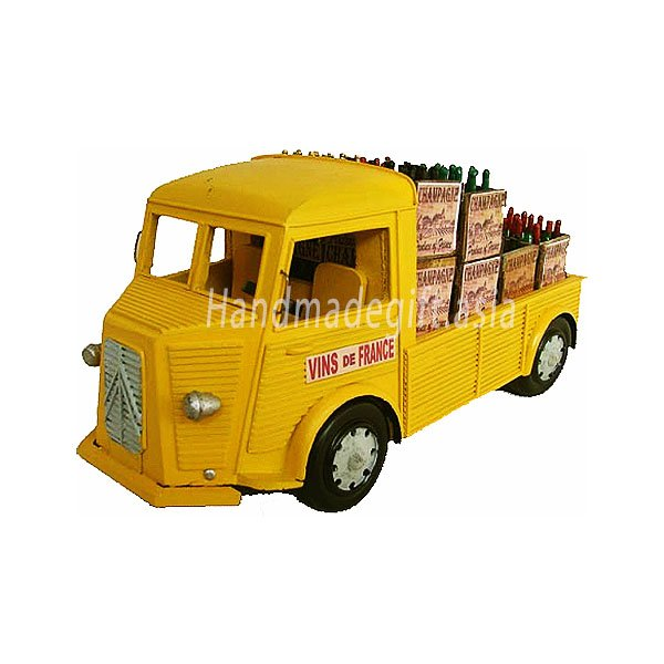 Antique design truck model - French Wine Truck