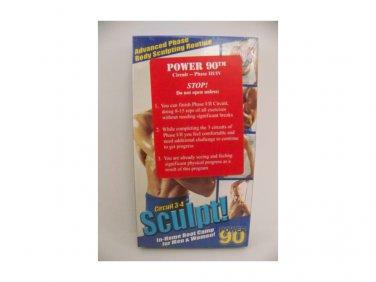 Sculpt! Circuit 3-4 Power 90 (VHS)