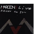 MAROON 5 LIVE FRIDAY the 13th (CD/DVD)