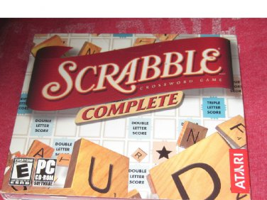 Srable Complete Crossword Puzzle (PC CD-ROM, 2006)