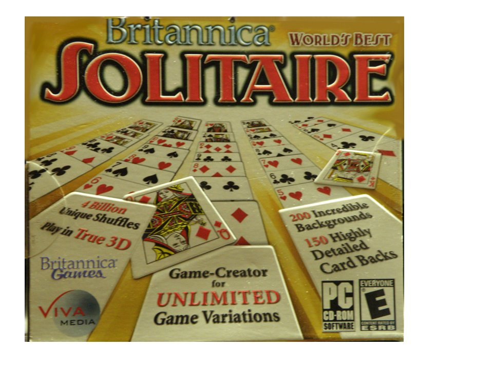 Brittannica World's Best SOLITAIRE Game Creator for UNLIMITED Game Variations