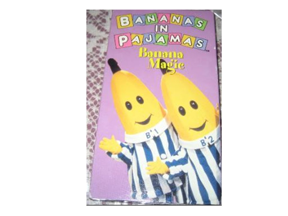 BANANAS IN PAJAMAS Banana Magic (VHS,1997)