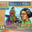 Black Heritage Series - Madam C.J. Walker - Jigsaw Puzzle - 24 Pc by Pressman Toy
