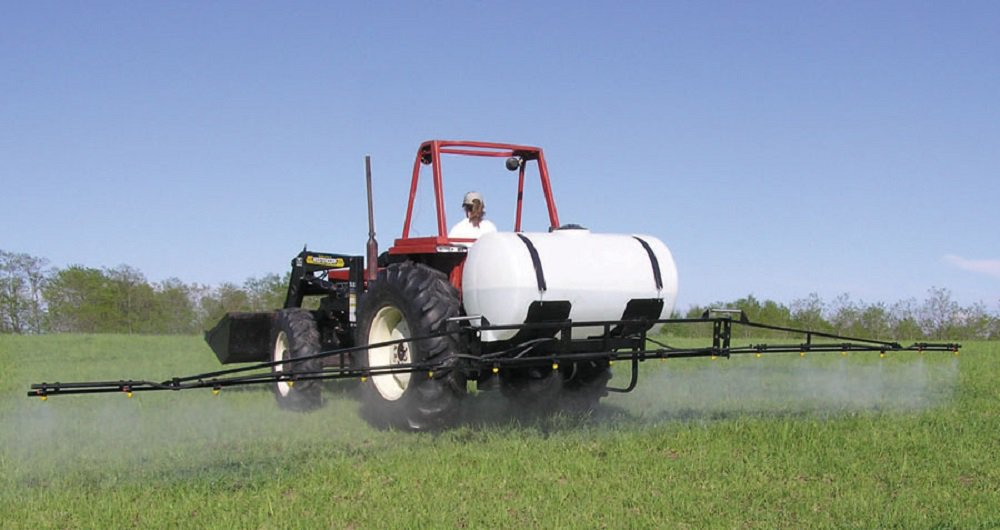Insecticides & Herbicides. 200 Gallon 3-Point Sprayer 21' Boom