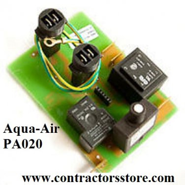 Aqua-Air PA020 Mother Board for 130/150/158 Central Vacuum Units