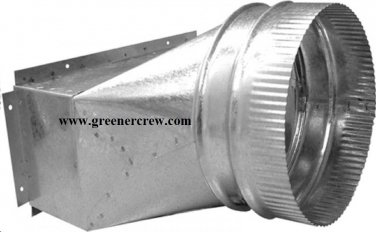 """6"""" Duct Adapter 2 Pack for Green Air Generators"""