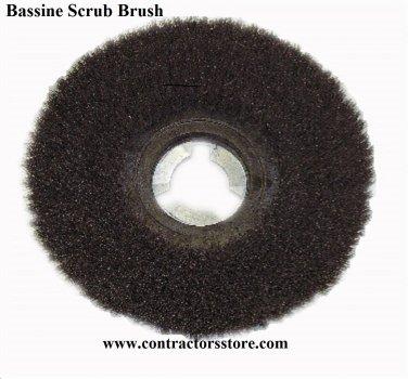 """18"""" Bassine Scrub Brush Concrete Floors ( Fits 20"""" Floor Machine)"""