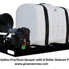 Sprayer 200 Gallon Fire/Dust Skid Sprayer with 8 Roller Delavan Pump